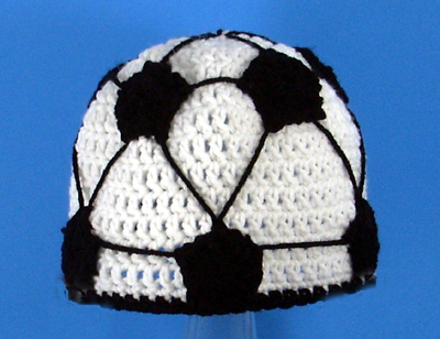 Soccer Ball Hat - Click Image to Close